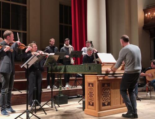 Live – répétition du Stabat Mater à Londres