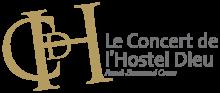Le Concert de l'Hostel Dieu Logo